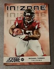🏈2012 score MICHAEL TURNER (insert) football card #15🏈 *Falcons* *Chargers*