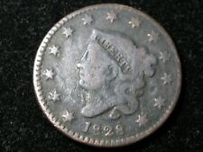 1828 LARGE CENT * SMALL WIDE DATE VARIETY * CORONET HEAD * FREE SHIP