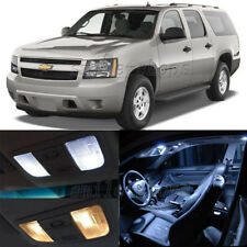 16pcs White LED Interior Lights Kit Fit For 2000-2014 Chevy Tahoe Suburban