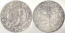 3 KREUZER 1694 LEOPOLDO I AUSTRIA ARGENTO #6809