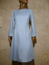 CHIC VINTAGE ROBE 1960 VTG DRESS 60s KLEID 60 er ABITO ANNI 60 MOD TWIGGY (38)