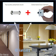 Silver 160° Wide Angle PeepHole Viewer 800TVL  Door Camera NTSC PAL Home Safety
