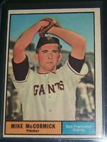 1961 TOPPS MIKE MCCORMICK SAN FRANCISCO GIANTS #305 EXMT
