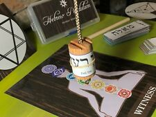 Hebrew Pendulum; Kit with 168 Labels in English