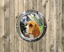 Pet Fence Plastic Dome Peek Bubble Window for Dogs, Kids, Animals Clear Tinted