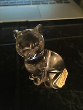Lenox Collections Crystal Animal Coll Cat