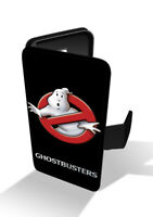 Ghostbusters Logo Paranormal Ghost Wallet Leather Phone Case