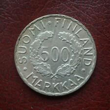 Finland 1952H silver 500 markkaa