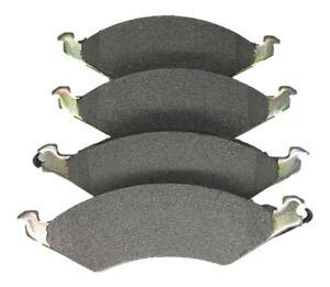 AutoSpecialty 24-421-04 Plus Semi-Metallic Brake Pads for 1986-1991 Taurus