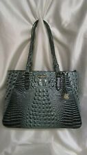 WOMEN`S BRAHMIN MEDIUM IRENE HANDBAG NEW W/T OBSIDIAN MELBOURNE GENUINE LEATHER