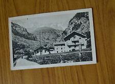 CARTOLINA VALLE D' AOSTA CASA ALPINA OLLOMONT VIAGGIATA 1934 SUBALPINA YY