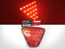 RS Mugen Style RED LED Rear Diffuser Bumper reflectors Light Lamp 37 LED's