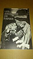 Les assassins de papier - Clec Massillon - 1985 (rare)