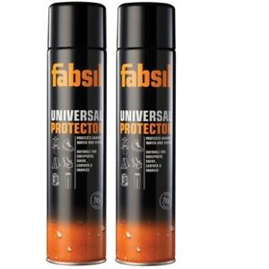 2x Grangers 600ml (1200ml) Fabsil Aerosol Protector Waterproofing Spray TWO CANS
