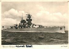 Foto, Wk2, Ak, Schwerer Kreuzer Admiral Scheer (N)21035