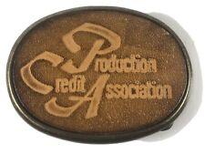 Vintage PCA Production Credit Association Farm Ag Belt Buckle El Cid