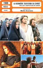 FICHE CINEMA USA La dernière tentation du Christ / The last temptation of Christ