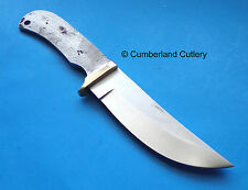 Knife Making Blade Blank with brass guard  Hunting Skinning