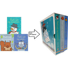 That's Not My Robot 3 Books Children's Books Collection Gift Wrapped Slipcase