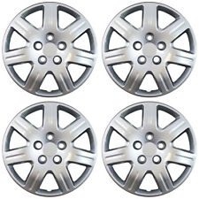 4pc Hub Caps Fits 06-13 Honda Civic 16 Inch Wheel Cover Rim Silver Skin
