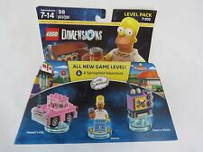 71202 level LEGO Dimensions Homer The Simpson Toy Car Taunt O Vision Cartoon NEW