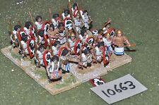 25mm foundry ancient egyptian spearmen 24 infantry (10663)