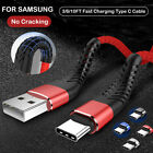For Samsung Galaxy Note 8 9 10 20 Ultra Charger Cable Type C USB C Charging Cord