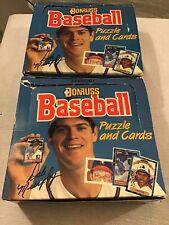 1988 Donruss Baseball Cello Boxes Case Fresh -