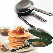 Frying Pan Reversible Flip Egg Omelet Pancake Cooking Gadget Maker Kitchen Tool