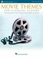 Movie Themes for Classical Players Cello and Piano Book and Audio 000284607