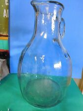 Vintage Antique WHITE HOUSE VINEGAR Clear Glass Jug Jar Pitcher 1/2 Gallon RARE