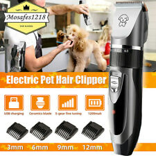 Dog Hair Clipper Clippers Trimmer Cat Pet Haircut Cutter Electrical Remover