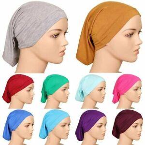 Under Scarf Cap Hijab Scarf TUBE BONNET BONE Chemo Hair Wrap Head wear Arab