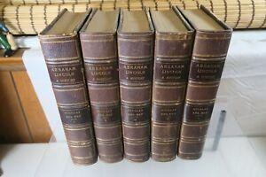 Abraham Lincoln: A History Book Nicolay, John G. & Hay, John HC 1890 - 5 Volumes