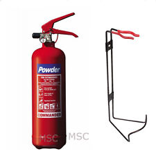 2 x 2KG POWDER ABC FIRE EXTINGUISHER HOUSE CAR BOAT OFFICE FREE POSTAGE IN UK
