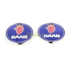 SAAB 93 9-3 9440 04-12  BONNET & BOOT BADGE EMBLEM 12844160 12844161 NEW GENUINE