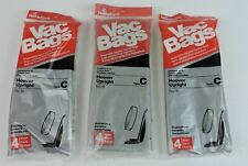 18 # Type C Hoover Upright Vac Bags Vacuum Cleaner Bags  Lot of 3