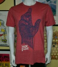 Young The Giant T Shirt Large Hand Graphic Irvine CA Indie Rock Pop Nice Soft