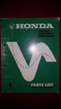 Honda CB500 CB500K0 K1 K2 DREAM BENLY PARTS LIST MANUAL DEALER MINT CONDITION
