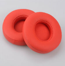Replacement Foam Ear Pad Cushion Repair for beats by Dr. Dre solo 3 wireless red
