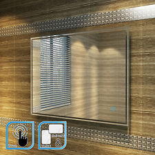 900x700mm  LED ILLUMINATED BATHROOM MIRROR | IP44 | DEMISTER | TOUCH