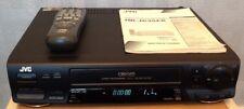 Black JVC Video Tape Player & Recorder VCR Nicam VHS Turbo Search HR-J625