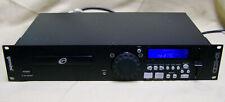 Gemini CDX-01 Professional DJ CD Player pitch bend BPM tap, line in