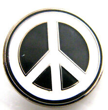 CND C N D Peace Anti War Lapel Pin Badge in Velvetine Gift Pouch