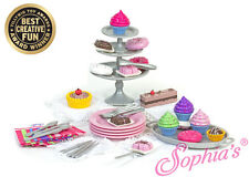 """Sophia's 39 Pc Dessert Set Made For 18"""" American Girl Doll Grace accessories"""