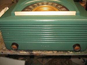 PHILCO 51-930 AM table radio nice restored elec  plays Ex