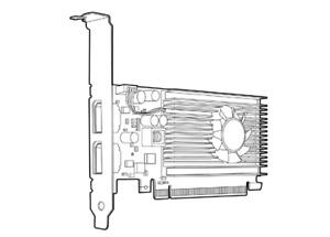 NVIDIA NVS 310 Graphic Card 512MB P/N A7U59AA
