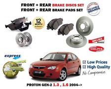 Para Proton Gen 2 1.3 1.6i 2004- > Frente + Juego Freno Disco Trasero Y Pad Kit
