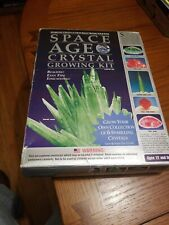 Space Age Crystal Growing Kit Emerald and Ruby Cluster 6 Crystals and Geodes NEW