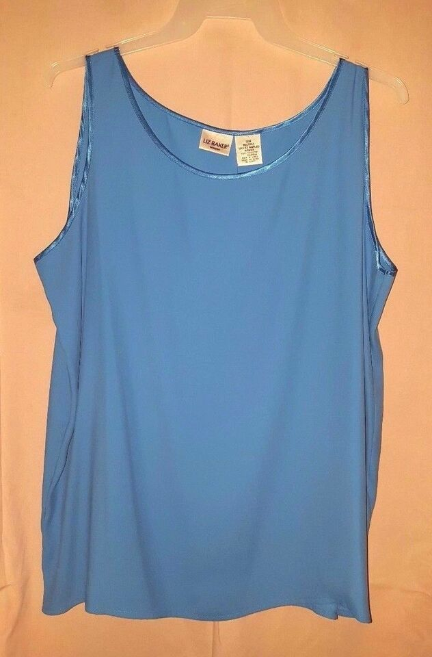 a6e605a3 Sell Liz Baker Women's Plus Size Tank Tops | eBay